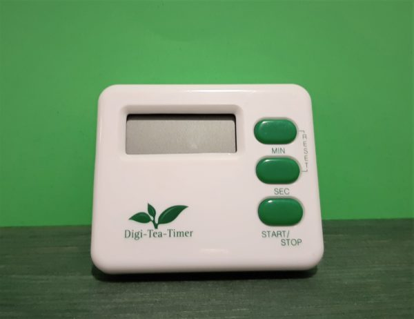 Reloj digital para té