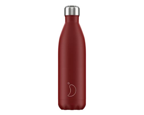 Botella Chilly Rojo Mate 750 ml.