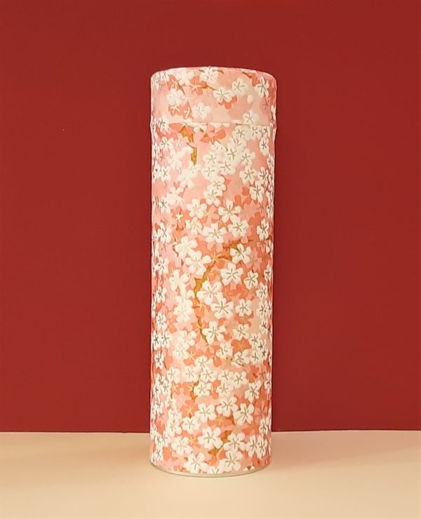 Lata papel pintado japonés rosa