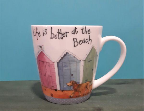 Mug Life is better at the beach