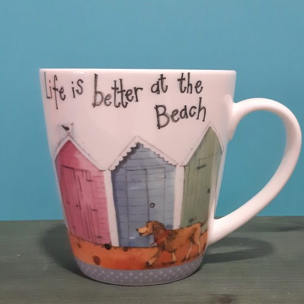 Mug Life is better at the beach