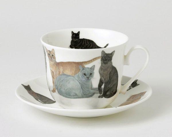 Juego de desayuno Gatos