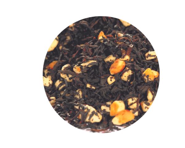 Té negro Toffe y Almendras