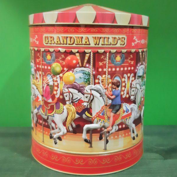 Lata de Galletas Grandma Wild's Carrusel
