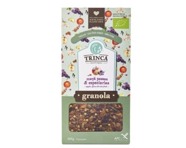 Granola con Manzana, Pasas y Especias
