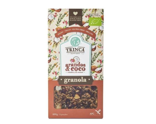 Granola con Arándanos y Coco