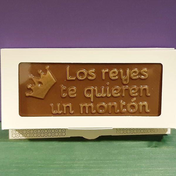 Chocolate Los Reyes te quieren  un montón