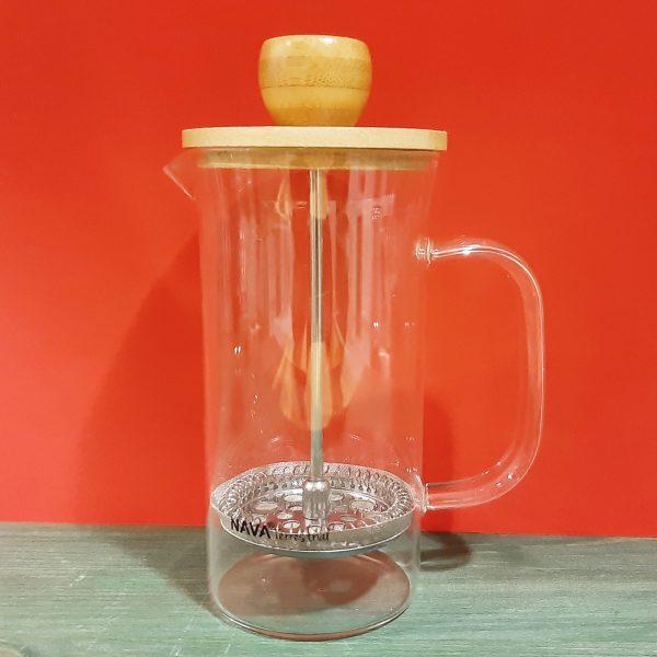 Cafetera de cristal