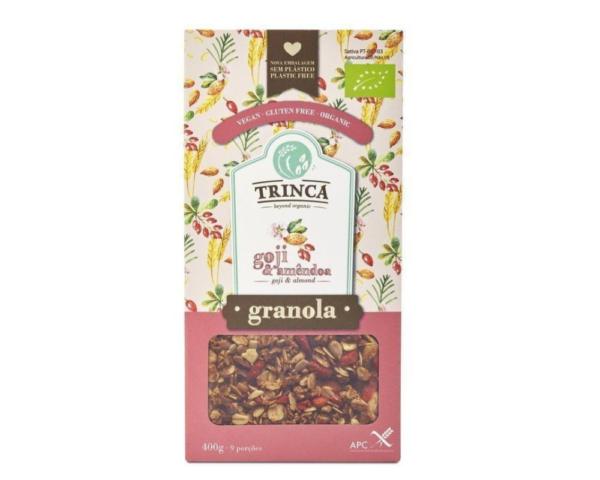 Granola con Goji y Almendras