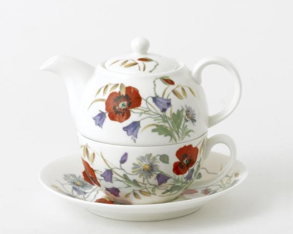 Tea for One Amapolas