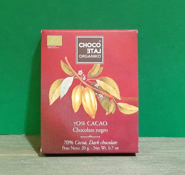 Mini Chocolate Negro 70%