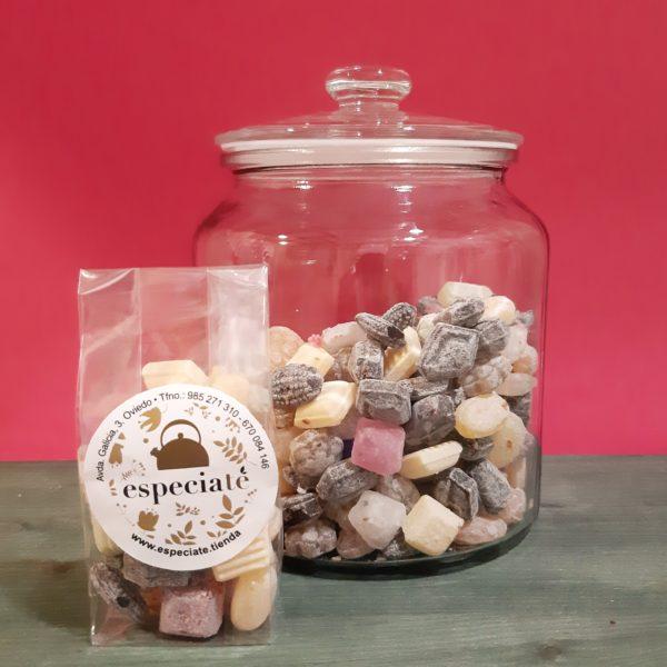 Caramelos naturales de Plantas y Té
