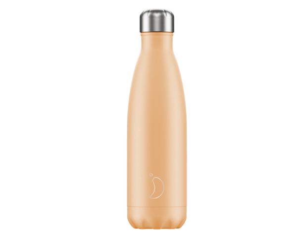 Botella Chilly Naranja Pastel