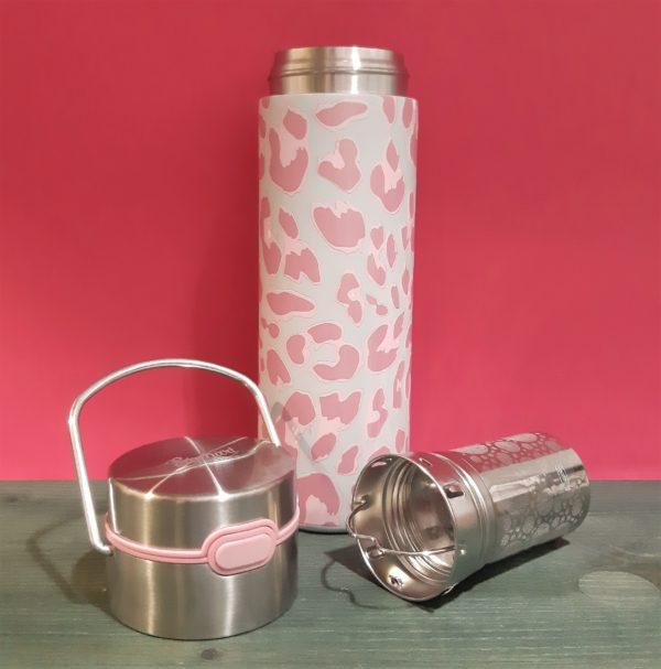 Termo con filtro Animal Pink