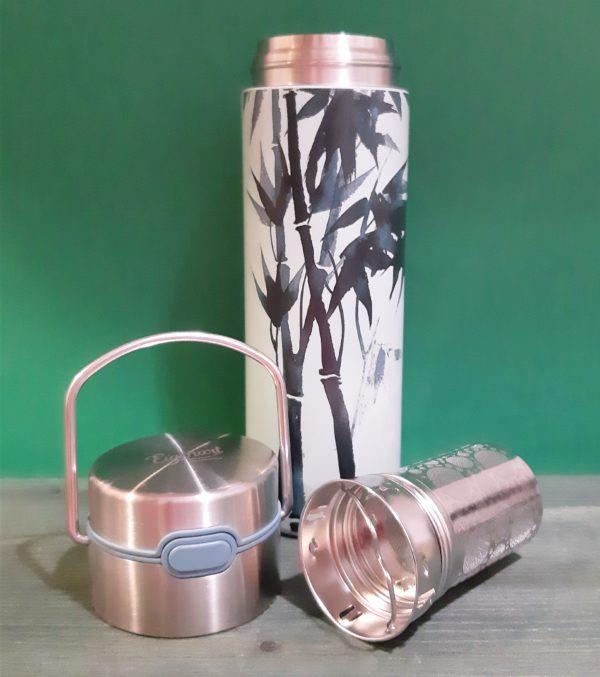 Termo con filtro Bambú