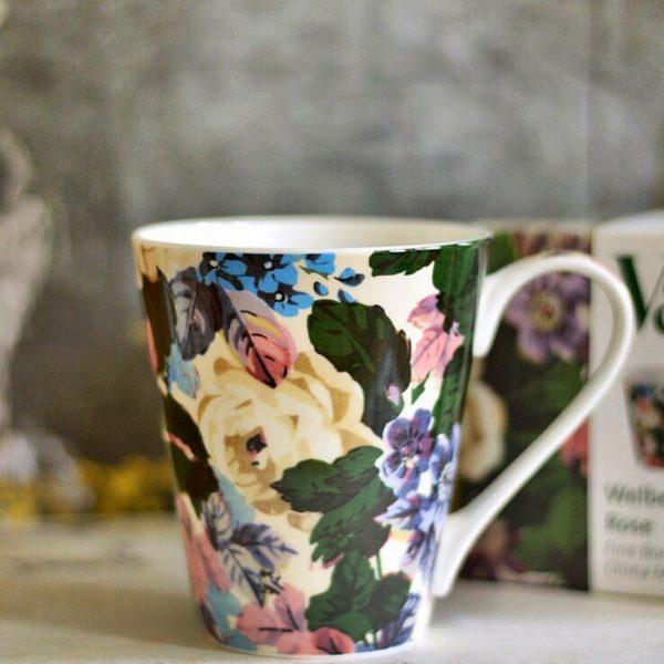 Mug V&A Welbeck Rose