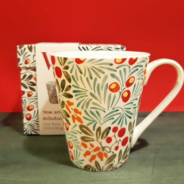 Mug V&A Yew & Arbutus