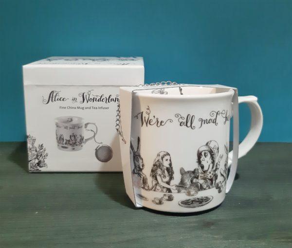 Mug con filtro V&A Alice in Wonderland