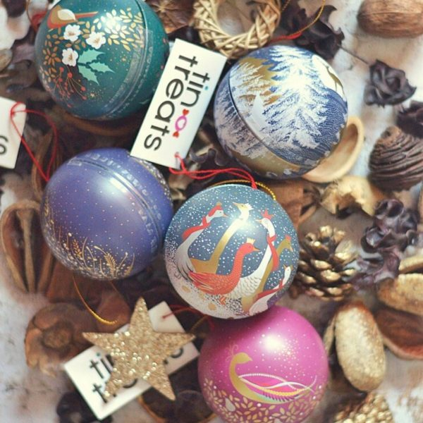 Bolas de Navidad con Chocolates