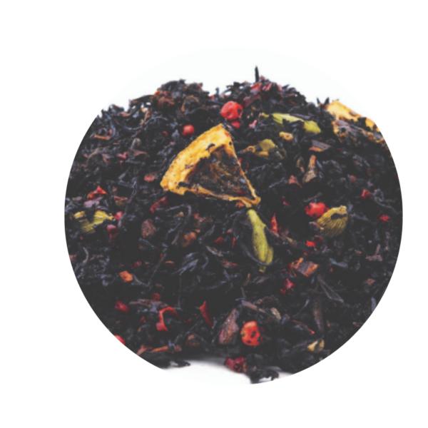 Té Negro Chai con Miel y Cardamomo