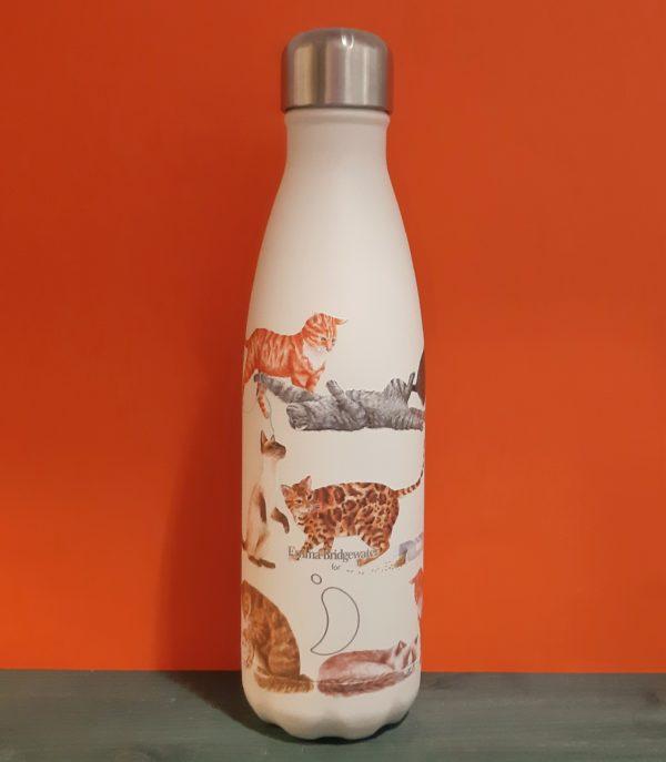Botella Chilly Gatos