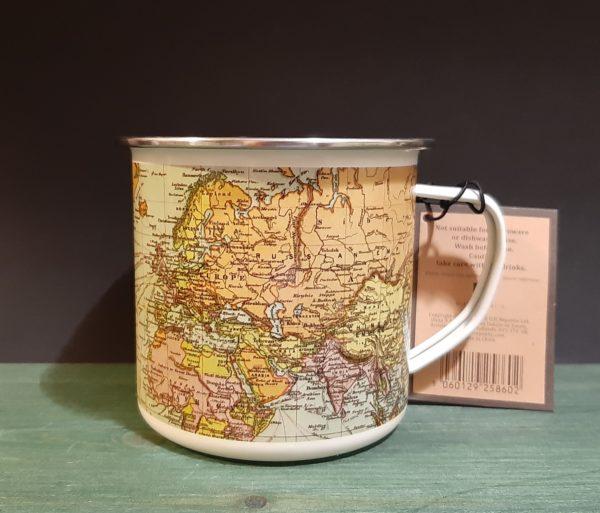 Mug Mapas White