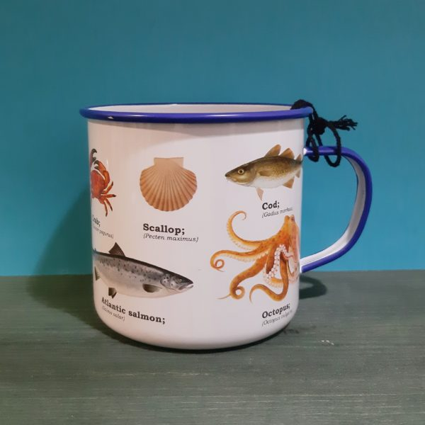Mug Enamel Sealife