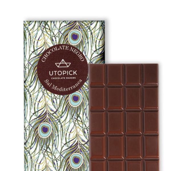 Chocolate negro con Sal Mediterránea