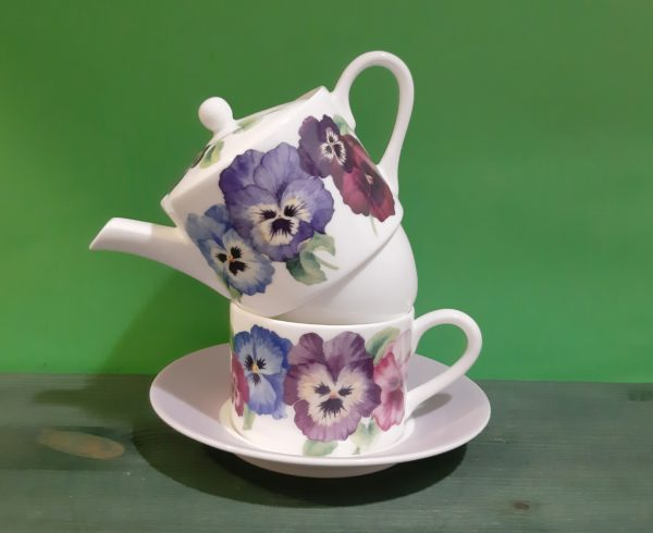 Tea for One Pansies