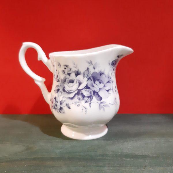 Jarrita para leche Rosas Azules