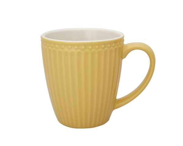 Mug Greengate Mostaza