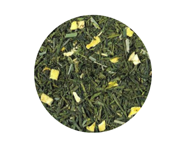 Té verde Ecológico Naranja y Jengibre