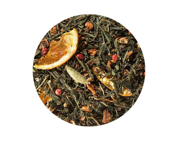 Té verde Chai de Naranja