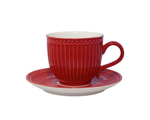Taza de Café Rojo